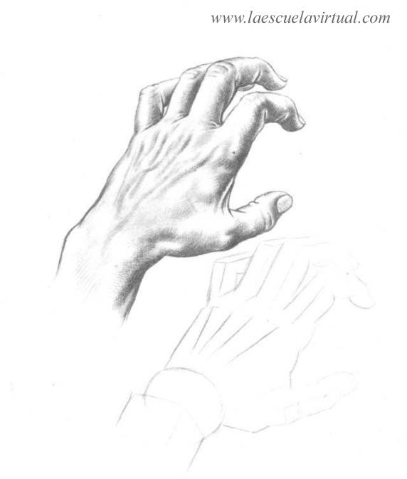Como Hacer Dibujo De Manos Parte 2 Aprende A Manos Tutorial