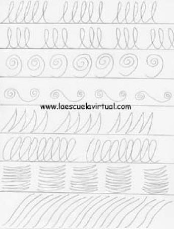 Practicas De Iniciacion Al Dibujo El Trazo Ejercicios Para